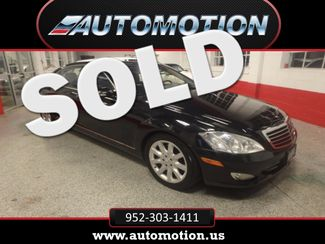 2007 Mercedes S550 4-Matic SHARP BLACK ON GRAY! A BENZ FLAGSHIP! Saint Louis Park, MN