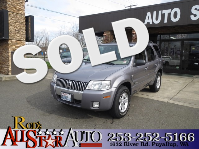 2007 Mercury Mariner AWD The CARFAX Buy Back Guarantee that comes with this vehicle means that you
