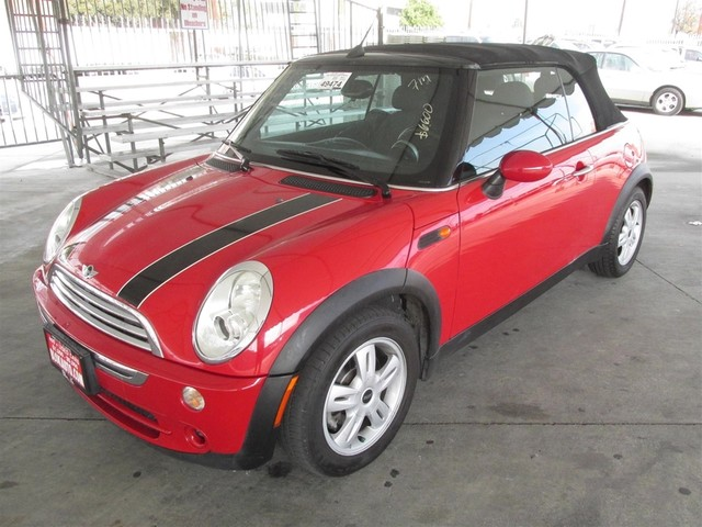 2007 MINI Convertible Please call or e-mail to check availability All of our vehicles are avail