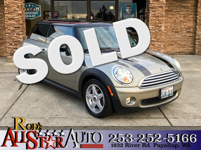 2007 MINI Hardtop The CARFAX Buy Back Guarantee that comes with this vehicle means that you can bu