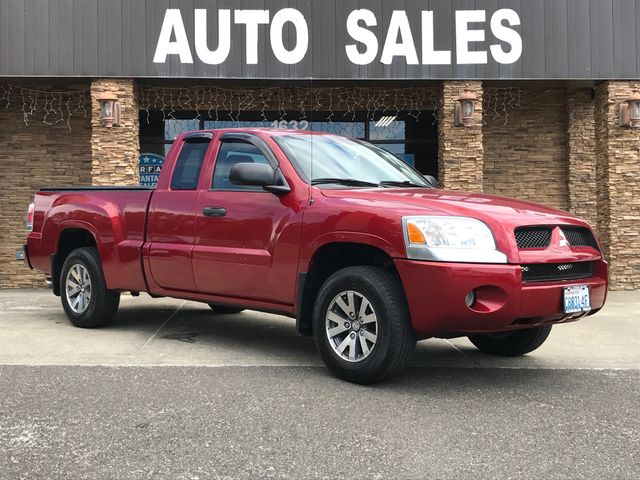 2007 Mitsubishi Raider LS The CARFAX Buy Back Guarantee that comes with this vehicle means that yo
