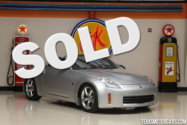 2007 Nissan 350Z Enthusiast This 2007 Nissan 350Z Enthusiast is in great shape with only 68 717 mi