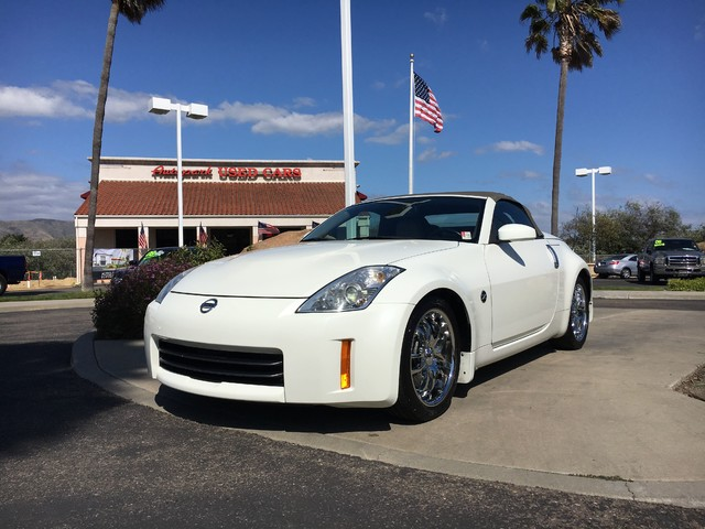 2007 Nissan 350Z Touring This is a 2007 Nissan 350Z Touring Power Folding Top White Exterior Tan