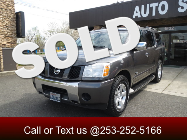2007 Nissan Armada SE 4WD If your in the market for an executive size suv you have seen a dozen ch