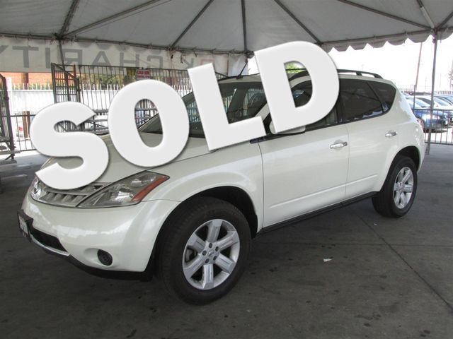 2007 Nissan Murano S Please call or e-mail to check availability All of our vehicles are availa