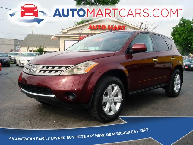 2007 Nissan Murano S | Nashville, Tennessee | Auto Mart Used Cars Inc. in Nashville Tennessee