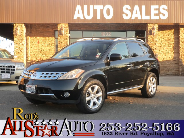 2007 Nissan Murano SE AWD The CARFAX Buy Back Guarantee that comes with this vehicle means that yo
