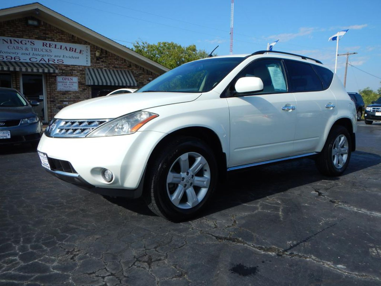 2007 nissan murano sl city tx brownings reliable cars trucks in wichita falls