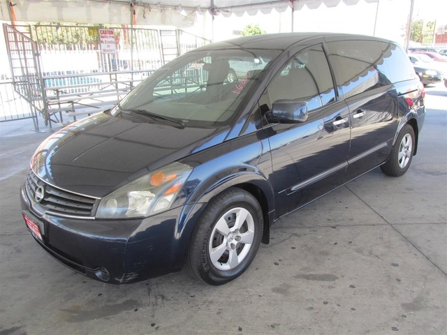 2007 Nissan Quest Base This particular Vehicle comes with 3rd Row Seat Please call or e-mail to c