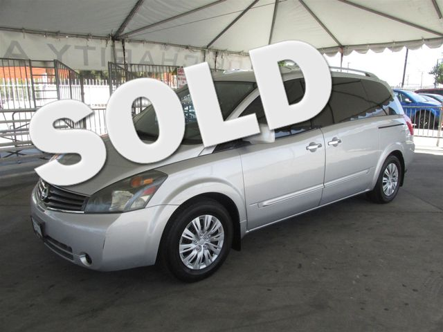 2007 Nissan Quest S This particular Vehicle comes with 3rd Row Seat Please call or e-mail to chec