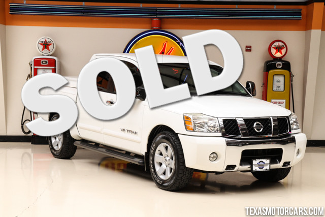 2007 Nissan Titan LE This Carfax 1-Owner accident-free 2007 Nissan Titan LE is in great shape with
