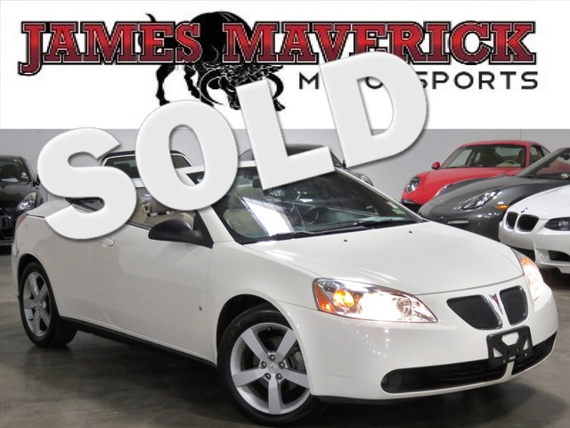 2007 Pontiac G6 GT CONVERTIBLE CLEAN CARFAX TEXAS ONE OWNER PREMIUM POWER HARD TOP CONVERTIB