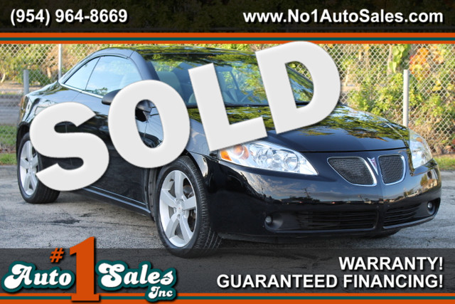 2007 Pontiac G6 GT  WARRANTY CARFAX CERTIFIED AUTOCHECK CERTIFIED 1 OWNER 16 SERVICE RECORD