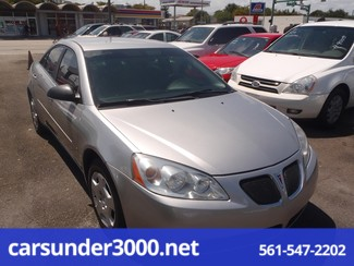 2007 Pontiac G6 1SV Value Leader Lake Worth , Florida