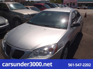 2007 Pontiac G6 1SV Value Leader Lake Worth , Florida 1