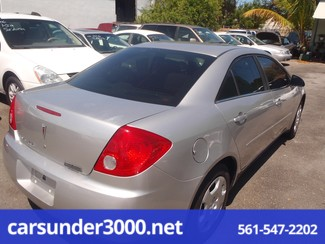 2007 Pontiac G6 1SV Value Leader Lake Worth , Florida 3