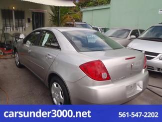 2007 Pontiac G6 1SV Value Leader Lake Worth , Florida 2