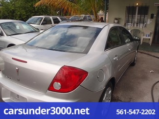 2007 Pontiac G6 1SV Value Leader Lake Worth , Florida 3