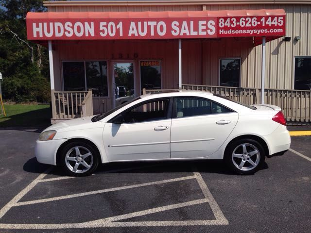 2007 Pontiac G6 Sedan | Myrtle Beach, South Carolina | Hudson Auto Sales in Myrtle Beach South Carolina