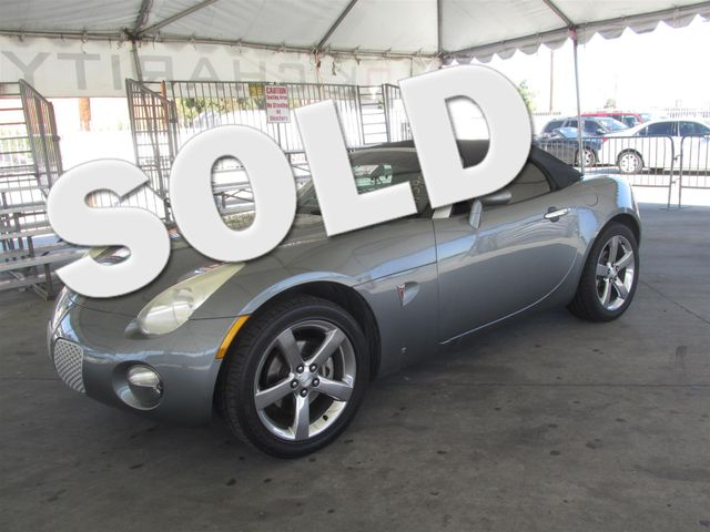2007 Pontiac Solstice Please call or e-mail to check availability All of our vehicles are avail