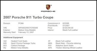 2007 Porsche 911 in Carrollton TX