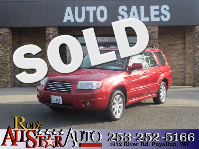 2007 Subaru Forester X AWD The CARFAX Buy Back Guarantee that comes with this vehicle means that y