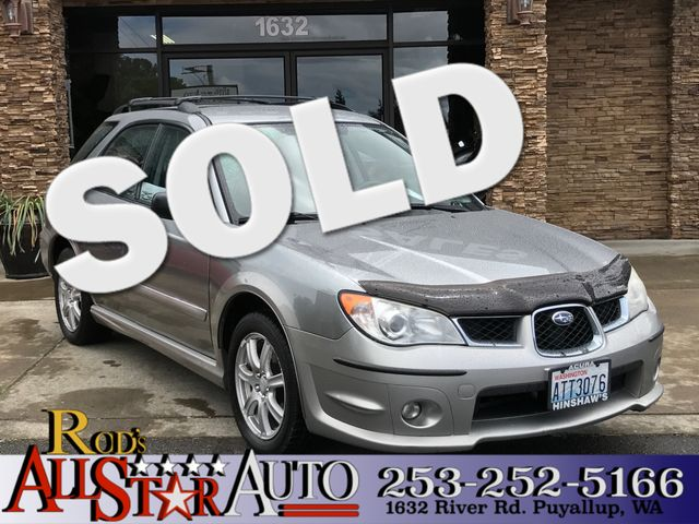 2007 Subaru Outback Sport AWD This vehicle is a CarFax certified one-owner used car Pre-owned veh