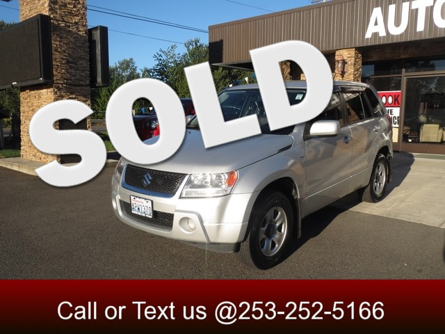 2007 Suzuki Grand Vitara 4WD The CARFAX Buy Back Guarantee that comes with this vehicle means that