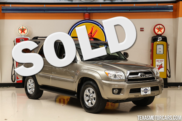 2007 Toyota 4Runner SR5 This 2007 Toyota 4Runner SR5 is in great shape with only 98 248 miles Th