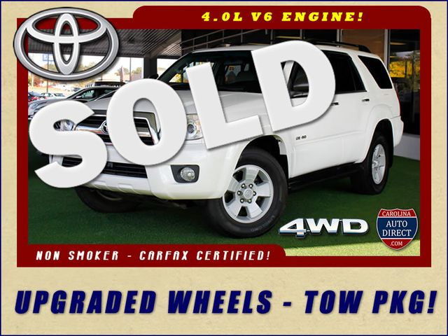 2007 Toyota 4Runner SR5 4WD - UPGRADED WHEELS - TOW PKG! Mooresville , NC 0
