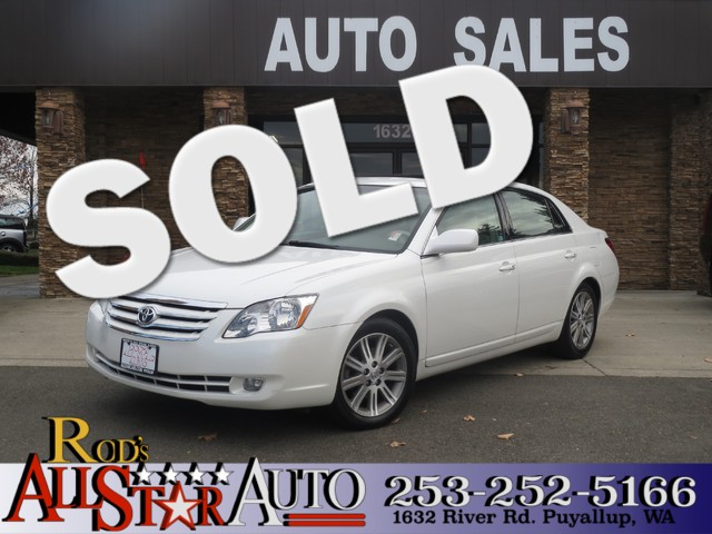 2007 Toyota Avalon XL The CARFAX Buy Back Guarantee that comes with this vehicle means that you ca