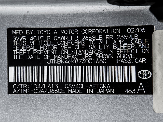 2007 Toyota Camry XLE Burbank, CA 18