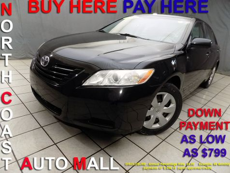 2007 Toyota Camry LE As low as $799 DOWN in Cleveland, Ohio