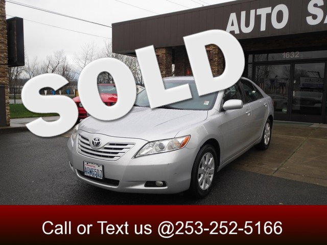 2007 Toyota Camry XLE The CARFAX Buy Back Guarantee that comes with this vehicle means that you can
