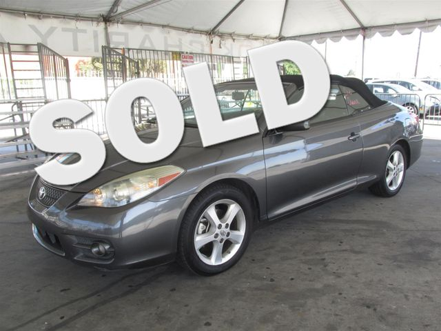 2007 Toyota Camry Solara SLE Please call or e-mail to check availability All of our vehicles ar
