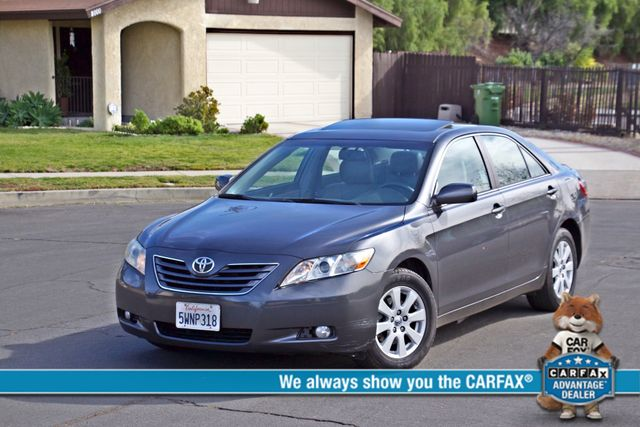 2007 Toyota CAMRY XLE LEATHER SUNROOF ALLOY WHLS NEW TIRES SERVICE RECORDS 1-OWNER Woodland Hills, CA 0