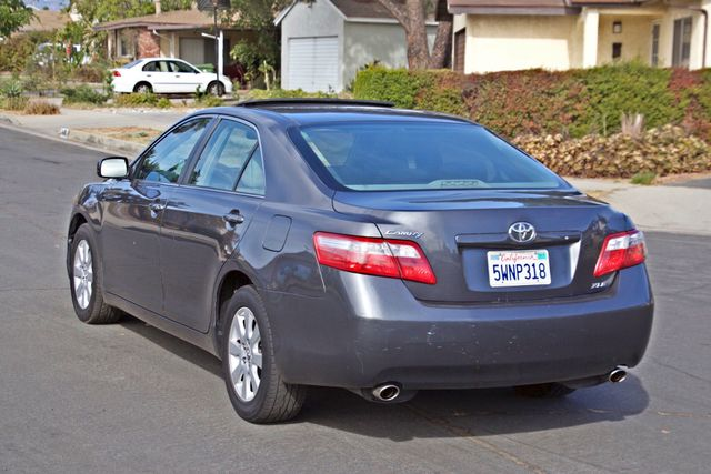 2007 Toyota CAMRY XLE LEATHER SUNROOF ALLOY WHLS NEW TIRES SERVICE RECORDS 1-OWNER Woodland Hills, CA 4