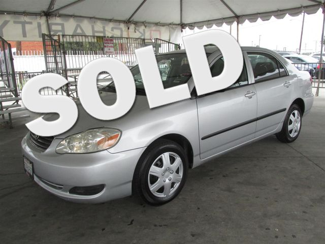 2007 Toyota Corolla CE Please call or e-mail to check availability All of our vehicles are avai