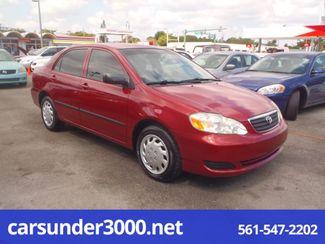 2007 Toyota Corolla CE Lake Worth , Florida 1
