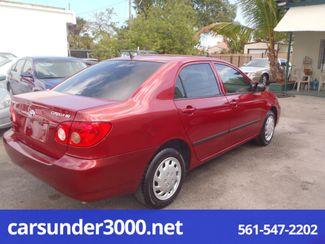 2007 Toyota Corolla CE Lake Worth , Florida 2
