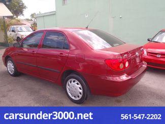 2007 Toyota Corolla CE Lake Worth , Florida 3