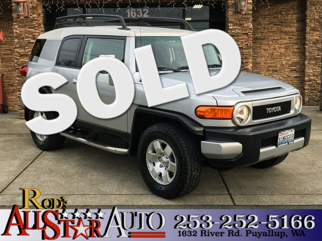 2007 Toyota FJ Cruiser 4WD This vehicle is a CarFax certified one-owner used car Pre-owned vehicl