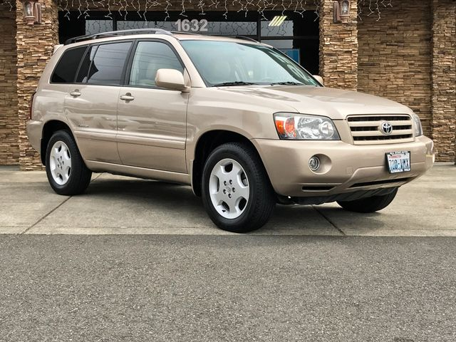 2007 Toyota Highlander Limited Clean CARFAX Gold 2007 Toyota Highlander Limited AWD 5-Speed Autom