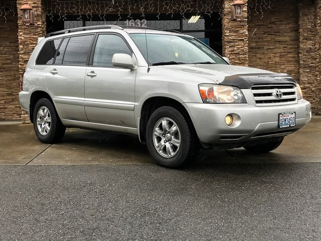 2007 Toyota Highlander Base Silver 2007 Toyota Highlander Base FWD 4-Speed Automatic with Overdriv