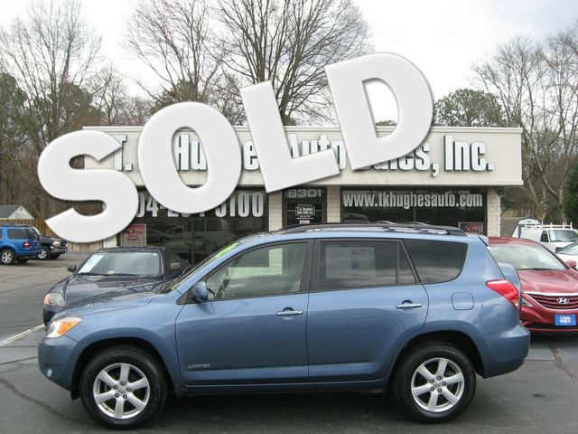 2007 Toyota RAV4 Limited Richmond, Virginia 0