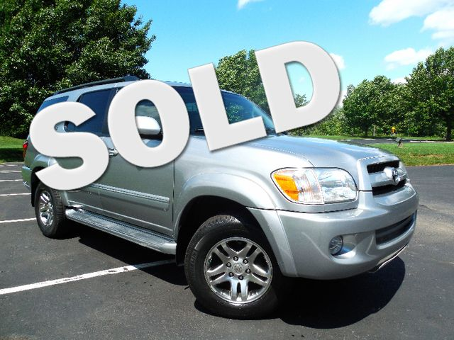 2007 Toyota Sequoia FULLY LOADED WITH LEATHER AND ROOF Leesburg, Virginia 0