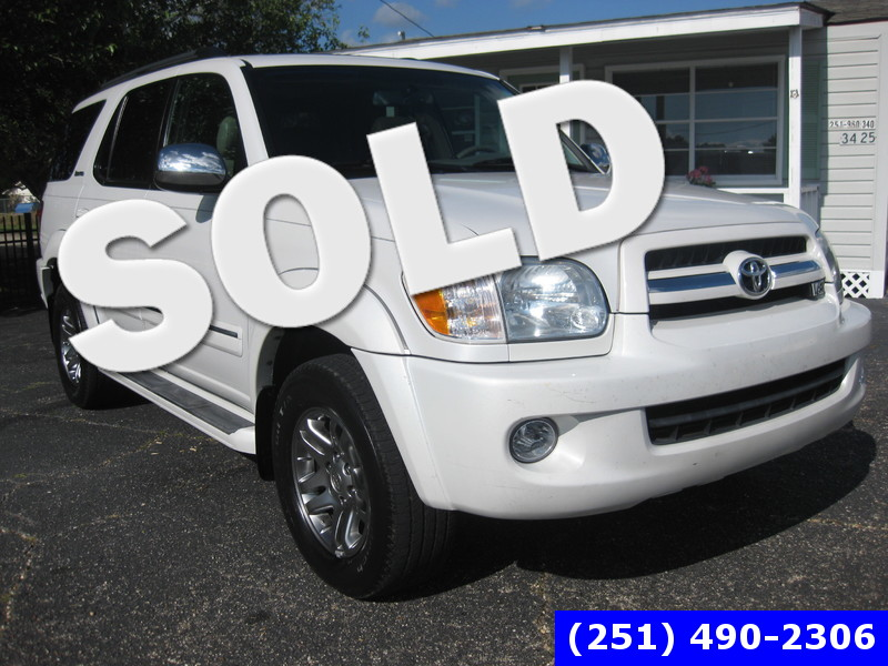 2007 Toyota Sequoia Limited in LOXLEY AL