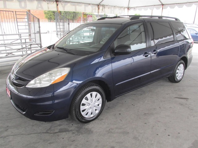 2007 Toyota Sienna CE This particular Vehicles true mileage is unknown TMU This Vehicle comes