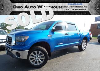 2007 Toyota Tundra SR5 4x4 CrewMax V8 81K LOW MILES We Finance | Canton, Ohio | Ohio Auto Warehouse LLC in  Ohio
