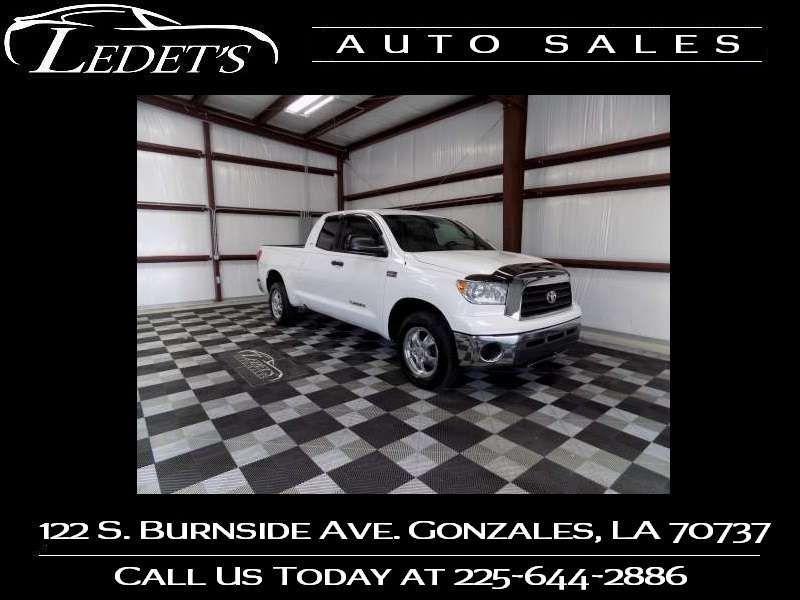 2007 Toyota Tundra SR5 - Ledet's Auto Sales Gonzales_state_zip in Gonzales Louisiana